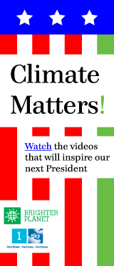 Climate Matters: watch the videos that will inspire our next president
